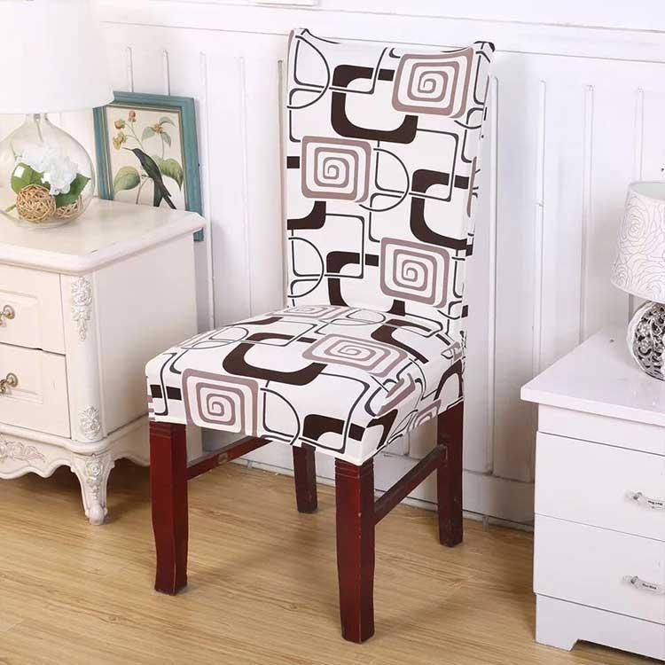 Чехол на стул со спинкой универсальный Тереса