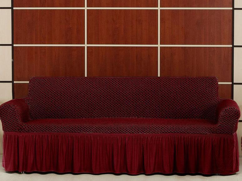 Чехол на трехместный диван Altinkoza Бордо