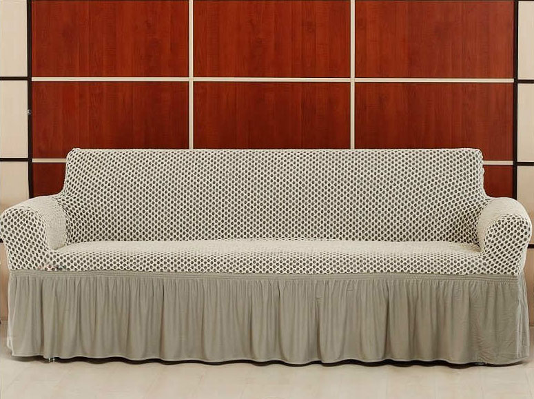 Чехол на трехместный диван Altinkoza Крем