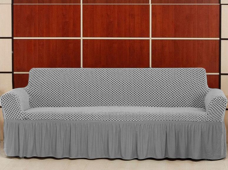 Чехол на трехместный диван Altinkoza Серый