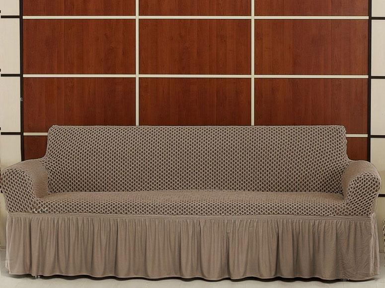 Чехол на трехместный диван Altinkoza Слоновая кость