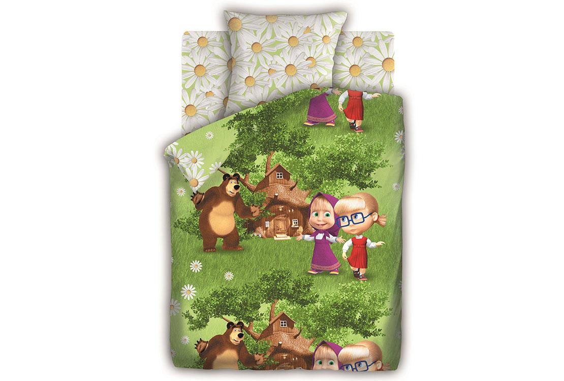 Детское постельное белье Двое на одного