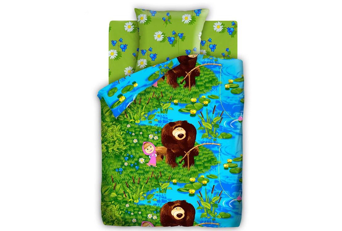 Детское постельное белье На рыбалке