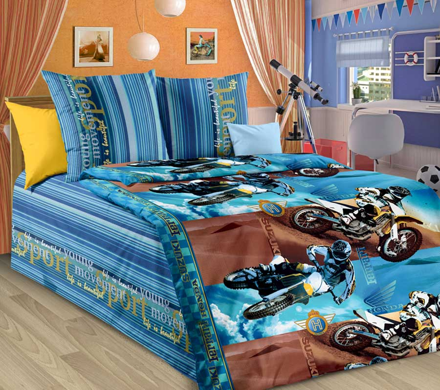 Детское постельное белье Valtery ДБ-55