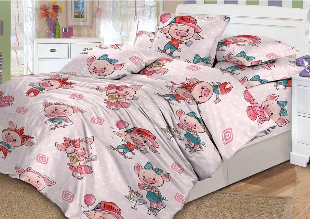 Детское постельное белье Valtery DL-17 Хрюшки
