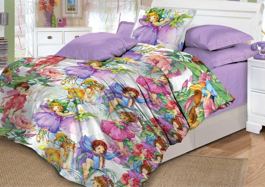 Детское постельное белье Valtery DL-6 Сказочные феи