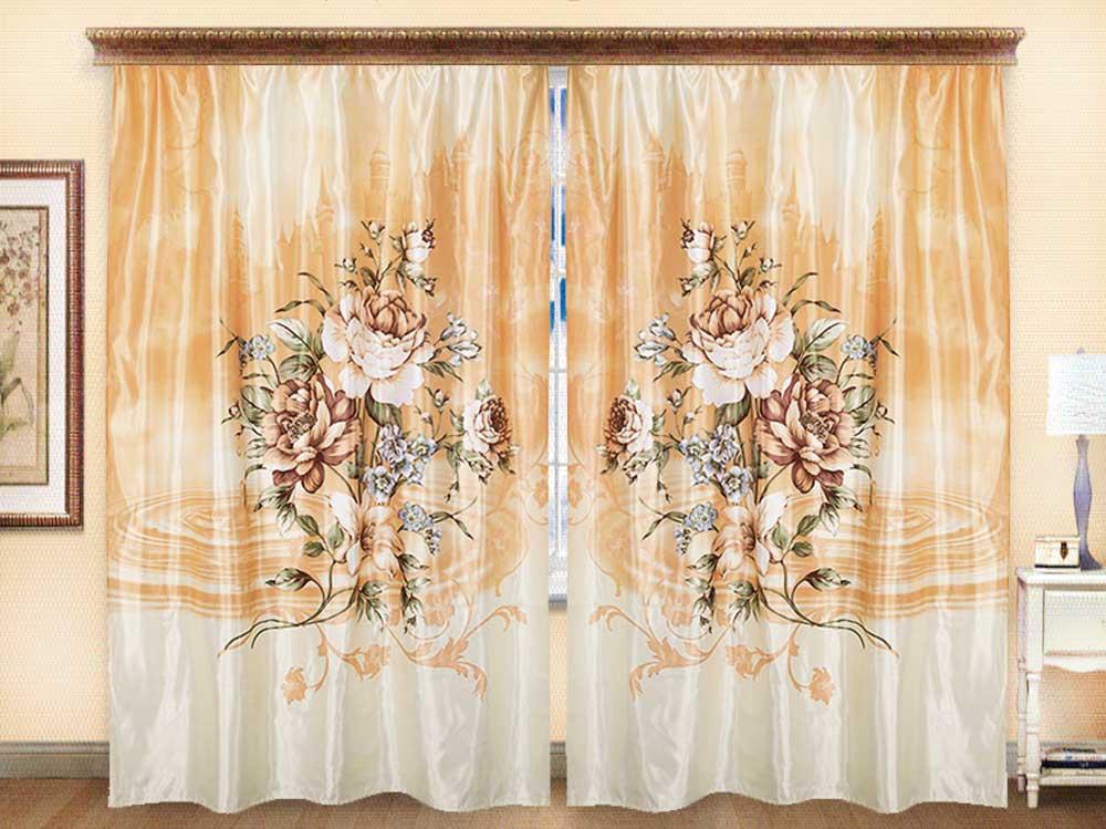 Комплект штор из иск. шелка I.M.A Альбион