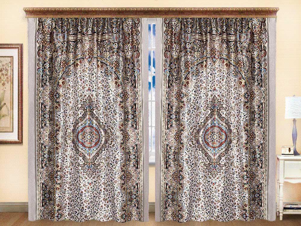 Комплект штор из иск. шелка I.M.A Шахерезада