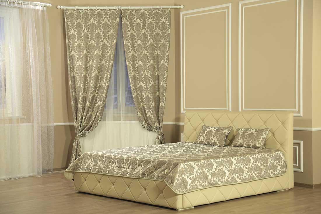 Комплект шторы с покрывалом Классик