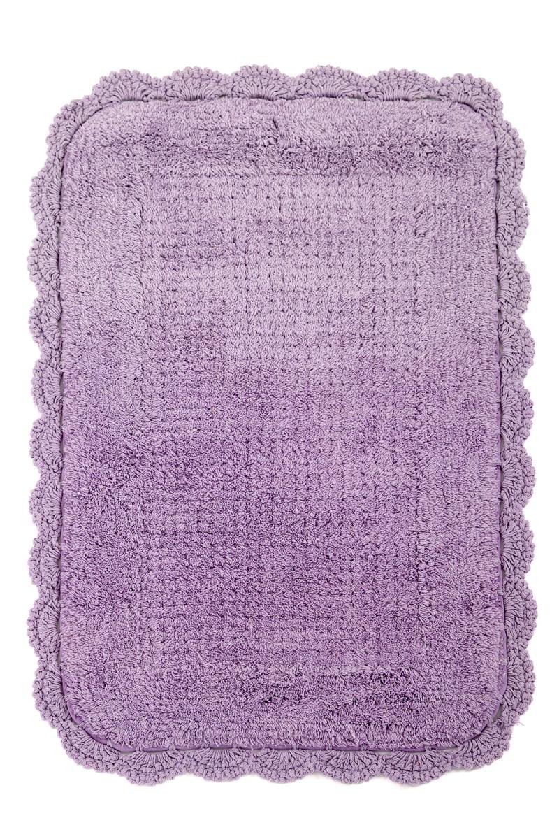 Коврик для ванной Irya Denzi Mor фиолетовый
