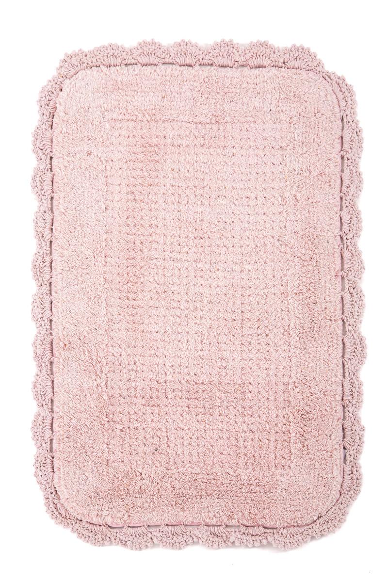 Коврик для ванной Irya Denzi Pembe розовый