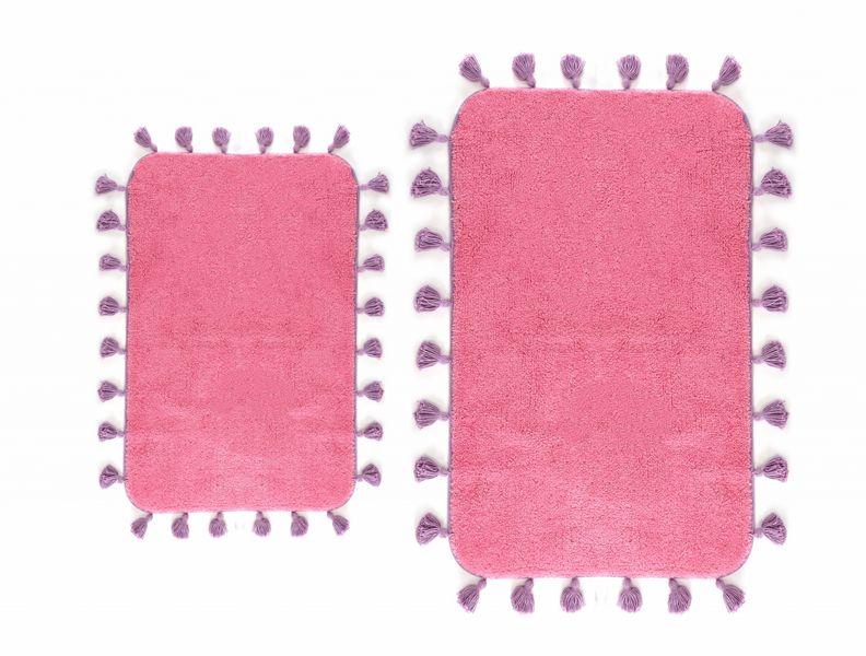 Коврик для ванной Irya Joy Pembe розовый