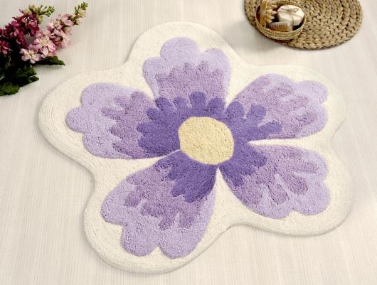 Коврик для ванной Irya Lavin Lila фиолетовый
