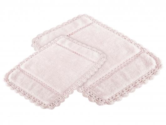 Коврик для ванной Irya Lorinda Pembe розовый