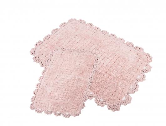 Коврик для ванной Irya Mina Pembe розовый