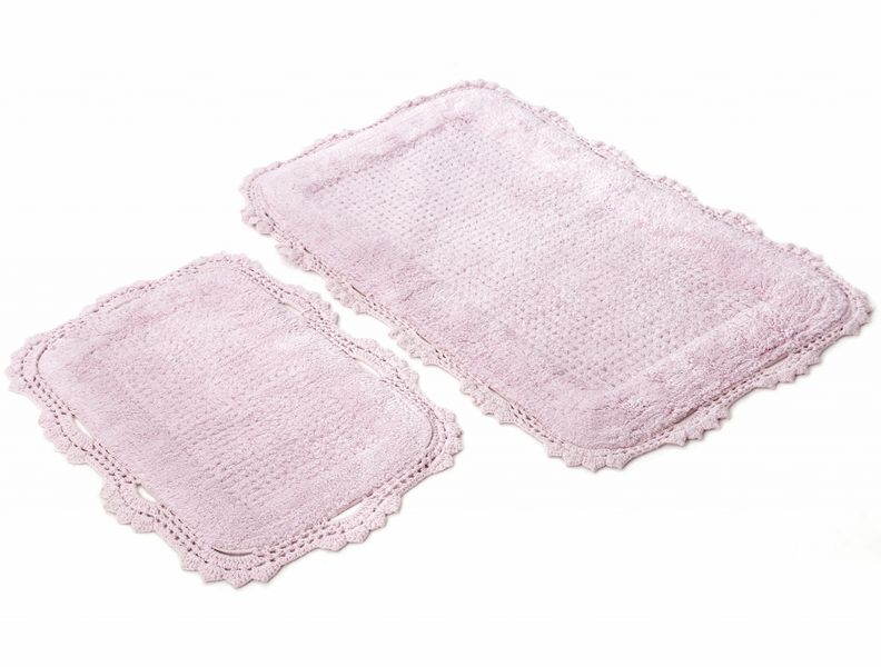 Коврик для ванной Irya Tina Pembe розовый