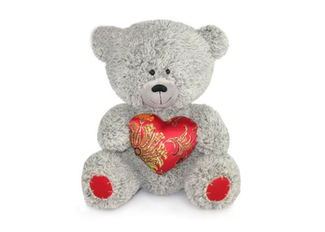 Медвежонок с парчовым сердцем муз.