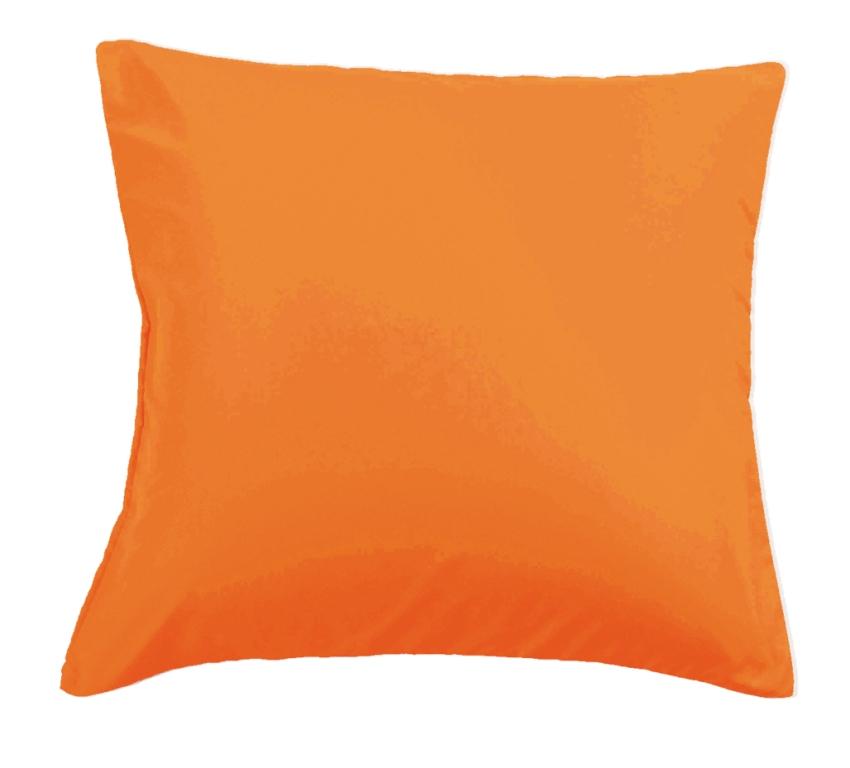 Наволочки Valtery сатин NC-08 оранжевый
