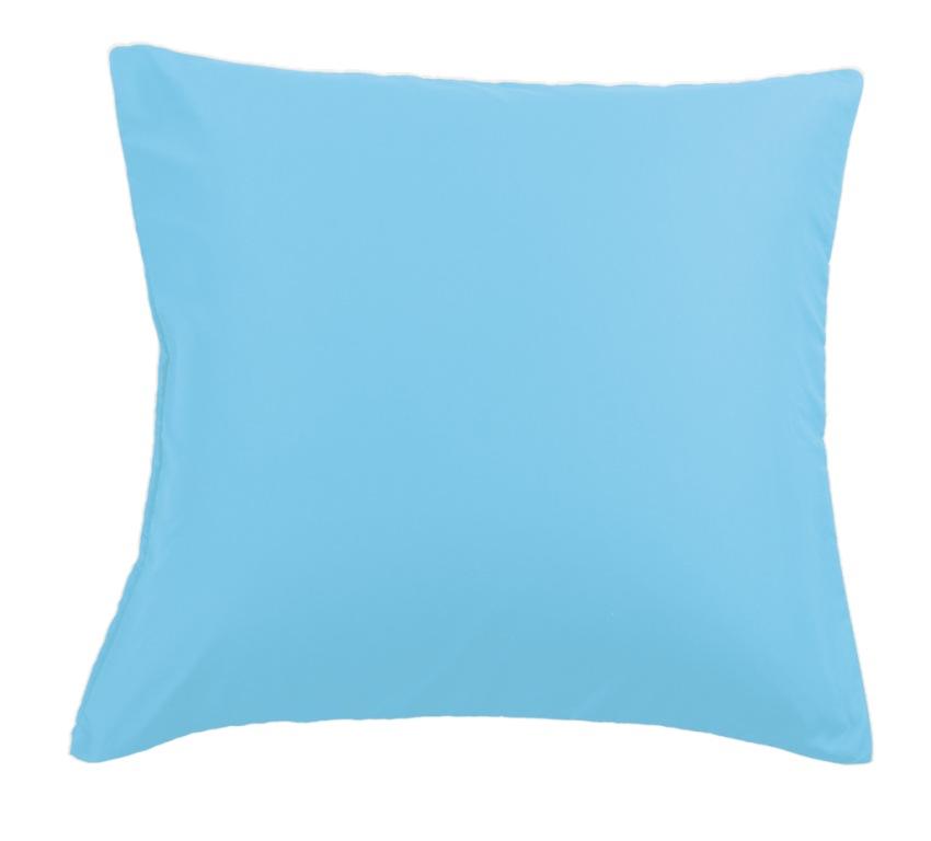 Наволочки Valtery сатин NC-14 голубой