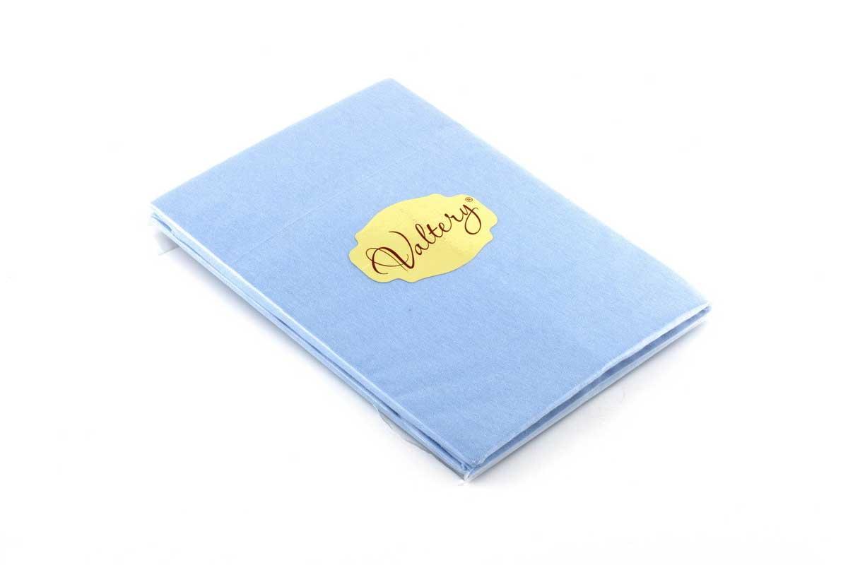 Наволочки Valtery трикотажные NT-темно-голубой