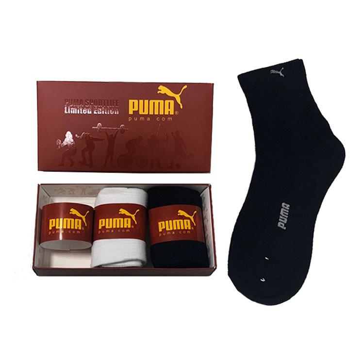Носки в подарочной упаковке 3 пары PUMA