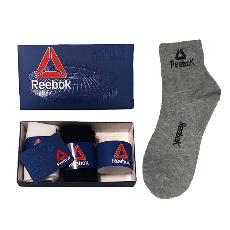 Носки в подарочной упаковке 3 пары Reebok