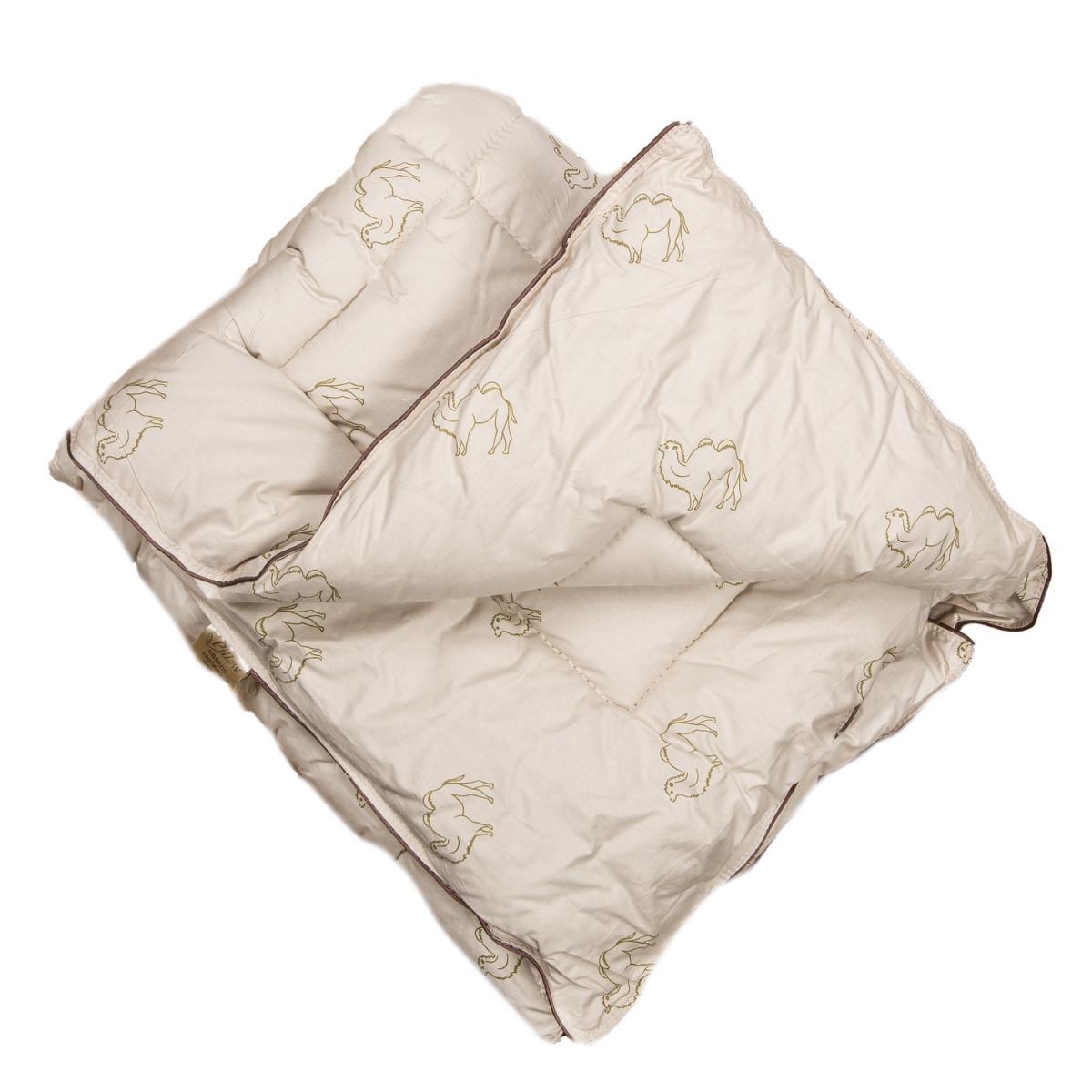 Одеяло детское верблюжья шерсть Люкс облегченное