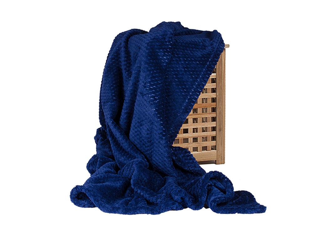Плед Ecotex Elegance Синий