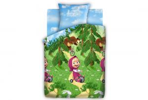 Детское постельное белье Велогонка