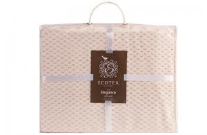 Плед Ecotex Elegance Кремовый
