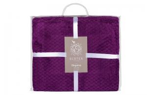 Плед Ecotex Elegance Фиолетовый