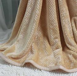 Плед флисовый цветной Салатовый