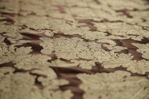 Комплект шторы с покрывалом Шоколад