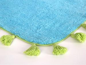 Коврик для ванной Irya Joy Mavi голубой