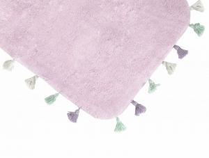 Коврик для ванной Irya Lucca Pembe розовый