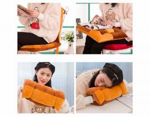 Подушка-сидушка на стул Kedior плюшевая Лиловая