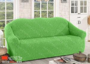 Чехол на диван без оборки Салатовый