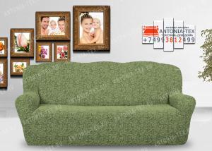 Чехол на диван Karteks буклированый жаккард без оборки WILDBERRIES-06