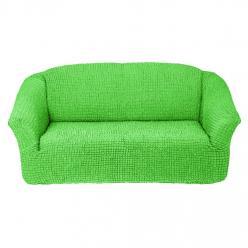 Чехол на диван без юбки на резинке, цвет Салатовый