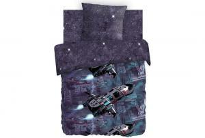 Детское постельное белье Космическая база