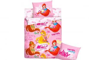 Детское постельное белье Winx Together