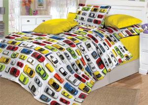 Детское постельное белье Valtery DL-8 Машинки