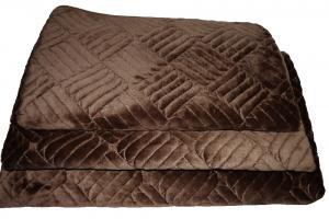 Дивандеки на мягкую мебель велюр шоколад