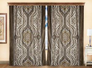 Комплект штор из иск. шелка I.M.A Ириана