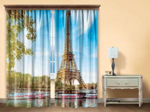 Комплект штор из иск. шелка I.M.A Париж
