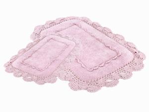 Коврик для ванной Irya Anita Pembe розовый