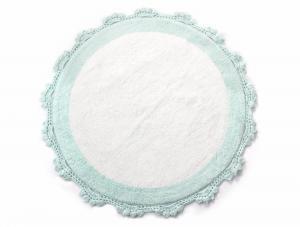 Коврик для ванной Irya Doreen Mint /Beyaz ментоловый/белый