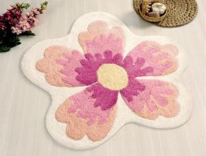 Коврик для ванной Irya Lavin Pembe розовый