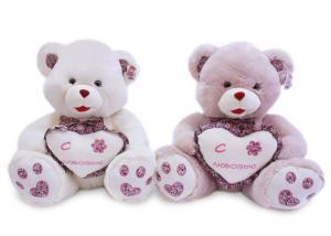 Медведь с сердцем и бантом муз -2цв.