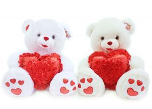 Медведь с сердцем в цветах муз.-2цв.